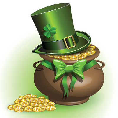 st patricks day marketing idea