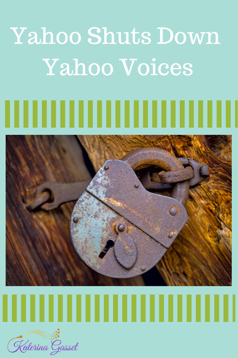 Yahoo Shuts Down Yahoo Voices Contributors