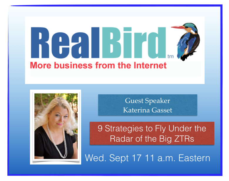Guest Speaker Katerina Gasset Realbird SEO Training for Agents