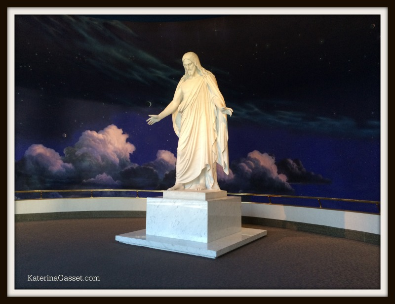Christ Statue at Salt Lake Temple Square
