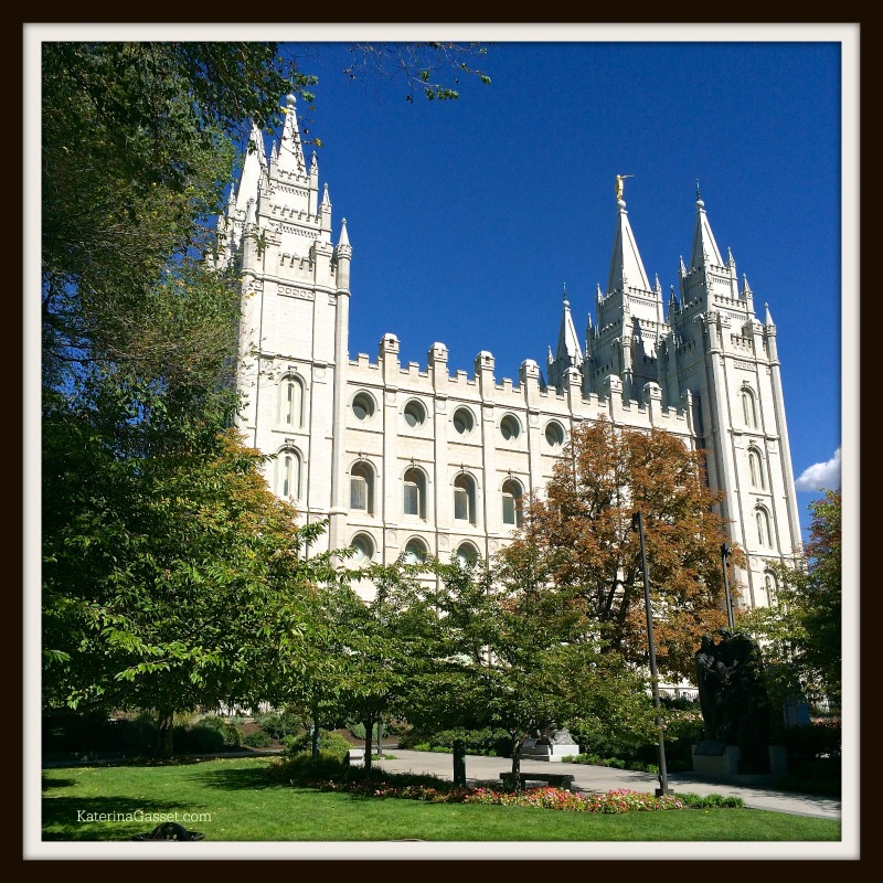Salt Lake City Temple by Photo Katerina Gasset