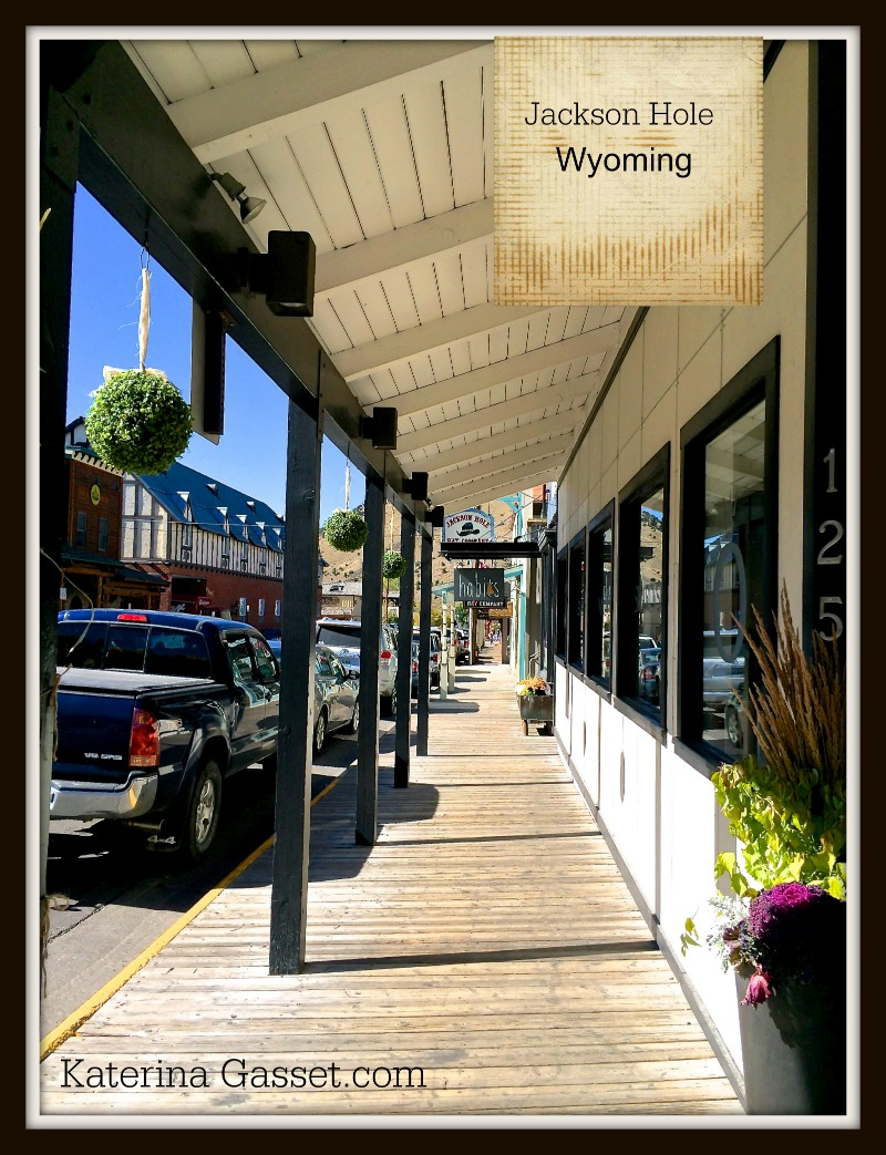 Jackson Hole Wyoming shopping retail retire in wyoming