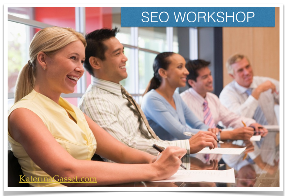 LIVE In Person SEO WORKSHOP