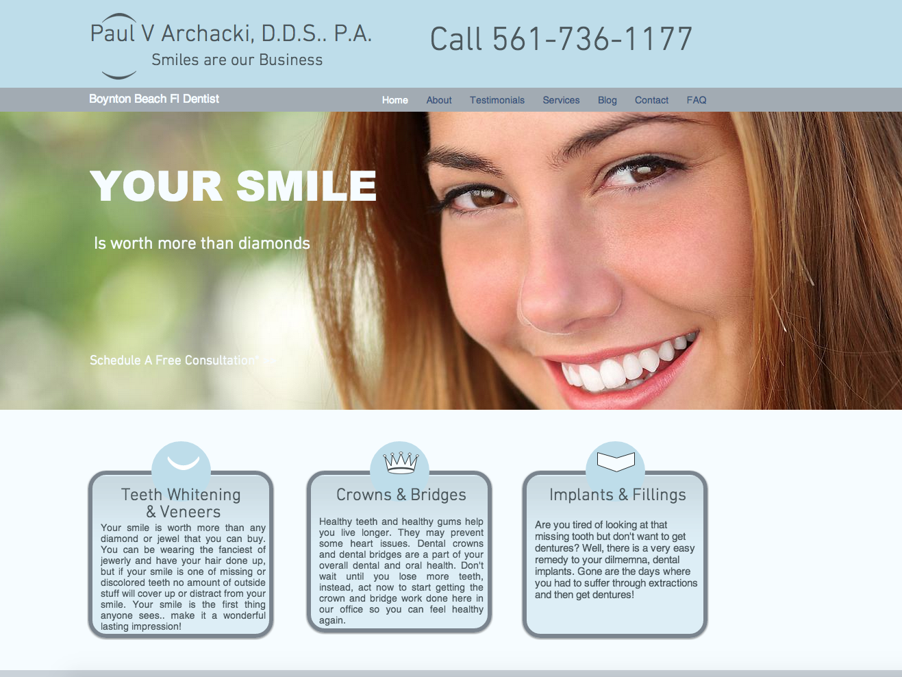 Katerina Gasset Websites for Dentists