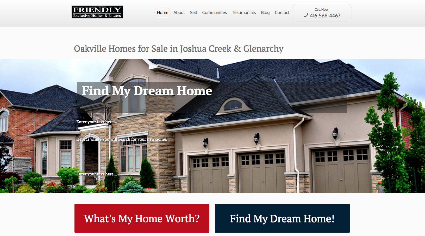Katerina Gasset Websites for Real Estate