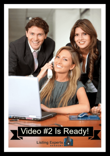 Video 2 Listing Experts Academy