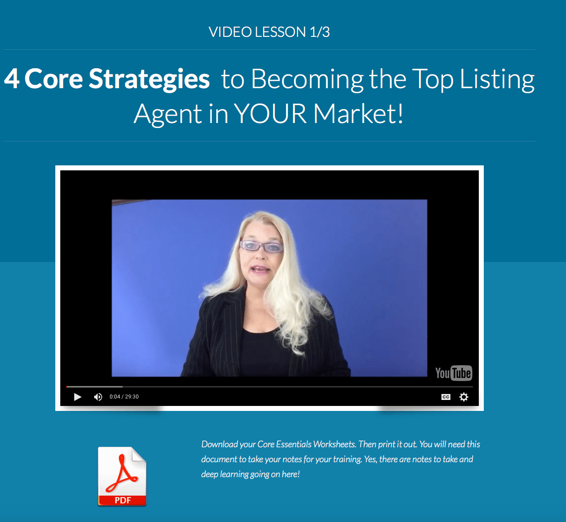 Katerina Gasset real estate agent coaching listing agent coaching