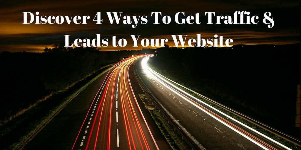 how to get traffic to my new website